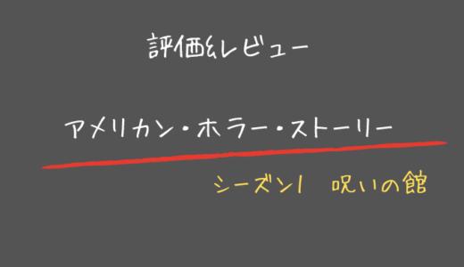【評価&レビュー】アメリカンホラーストーリー 呪いの館が想像以上に面白い!【シーズン1】