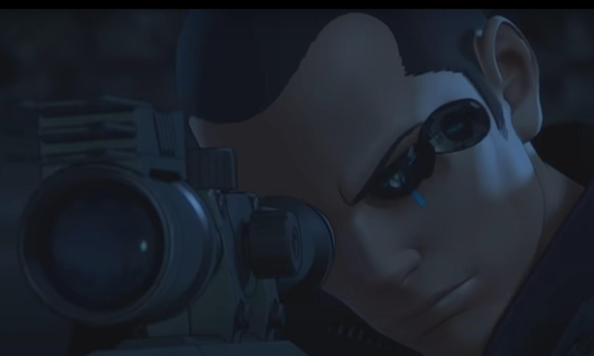 狙撃するサイトー